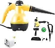 جهاز تنظيف بالبخار من دراكسون بقوة 1000 وات محمول بمقبض عالي الضغط للاستخدام في المنزل/السيارة/في الأماكن المغ