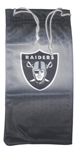 California Accessories Oakland Raiders Sonnenbrille Halter/Reinigungstuch