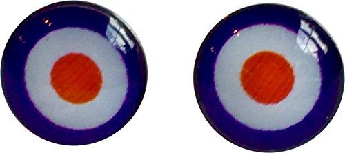 band-inspired-target-stud-earrings