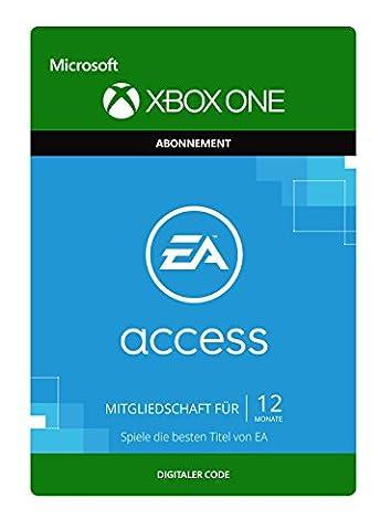 EA Access – Jahresmitgliedschaft [Spielerweiterung] [Xbox One - Download