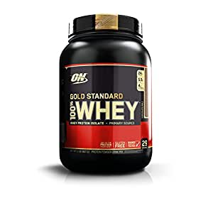 Optimum Nutrition (ON) Gold Standard 100% Whey Protein Powder - 2 lbs, 909 g (Chocolate Malt)