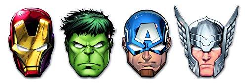 Generique - 6 Augenmasken Avengers