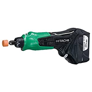 41IMsKczLdL. SS300  - Hitachi GP10DL - Amoladora recta (208 mm, 480 g, Negro, Verde)