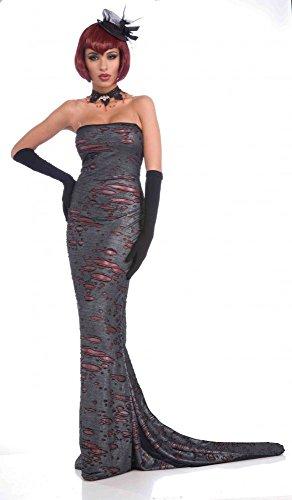 shoperama Mujer Disfraz Gótico Diva–Talla 38/40