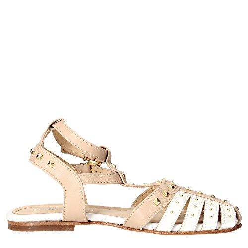 Florens F7168 Sandale Fille Blanc