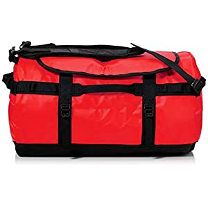 The North Face Base Camp Duffel Sports Bag, Unisex Adult, Red Red / TNF Black, M