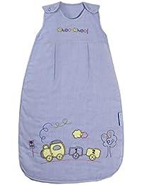 Slumbersac - Saco de dormir para bebé con diseño de tren (todo el año, 2,5 tog, tallas de 0-3 años), color azul