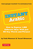 Instant Arabic: How to Express 1,000 Different Ideas with Just 100 Key Words and Phrases! (Arabic Phrasebook) (Instant Phrasebook Series)