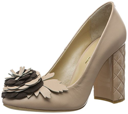 Fersengold Damen New York Pumps, Beige (Puder), 37 EU