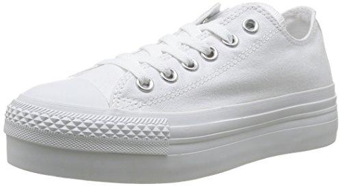 Converse Chuck Taylor All Star Femme Mono Platform Ox 308530 Damen Sneaker Weiß (3 BLANC)
