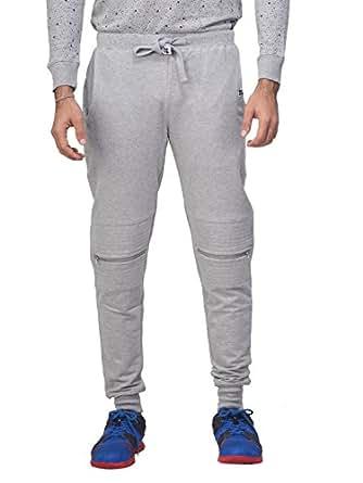 Kultprit Men's Jogger Pants (JOGG005_Grey_X-Large)