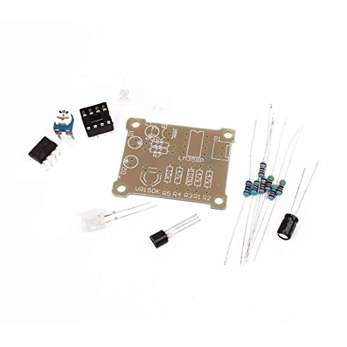 Aexit Signalwandler 5 mm, DC LED Blinklicht LM358 Atmung Modul Kit