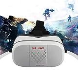 Lorenlli Schwarze Virtual Reality VR Max Headset 3D-Videobrille für Smartphone