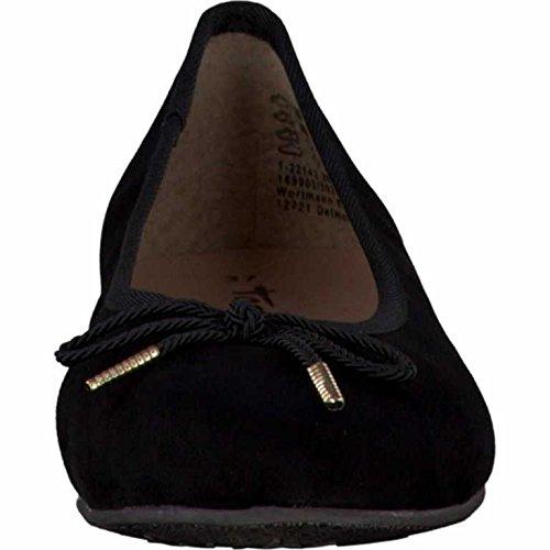 Tamaris  1-1-22142-28/001, Ballerines pour femme Noir