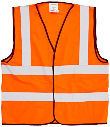 Händler Workwear High Visibility Vest Polyester Extra Large Yellow DWHVYL