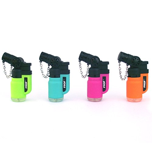 41IN%2BUVN4YL. SS500  - Prof Angled Neck, Blowtorch, Windproof, Electronic, Refillable, Jet Lighter, Gas Turbo, Red, Blue, Green, Black,