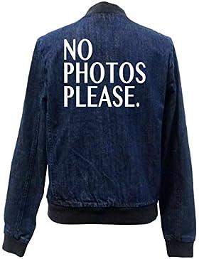 No Photos Please Bomber Chaqueta Girls Jeans Certified Freak