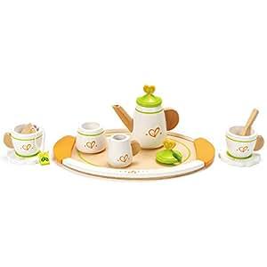 Hape HAP-E3124 Tea Set for Two - Multicolour
