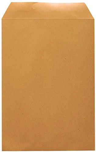 Idena 10229 - Versandtasche DIN C5, 90 g/m², selbstklebend, ohne Fenster,  500 Stück, FSC-Recycled, natron-braun