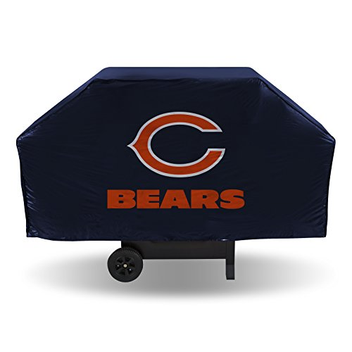 Rico NFL Grillabdeckung aus Vinyl, Chicago Bears, 68-inches Wide x 21-inches Deep x 35-inches High