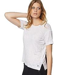 Bench Damen T-Shirt BLGA3154 - M2831 Light Grey Mar