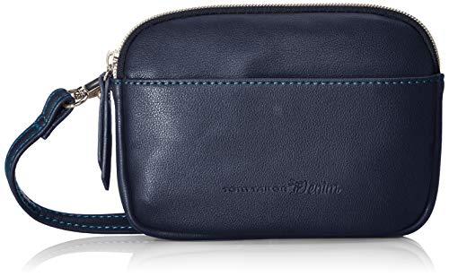 TOM TAILOR Bauchtasche Damen Freia, Blau (Blau), 16.5x12x2.5 cm, TOM TAILOR Gürteltasche Damen, modern