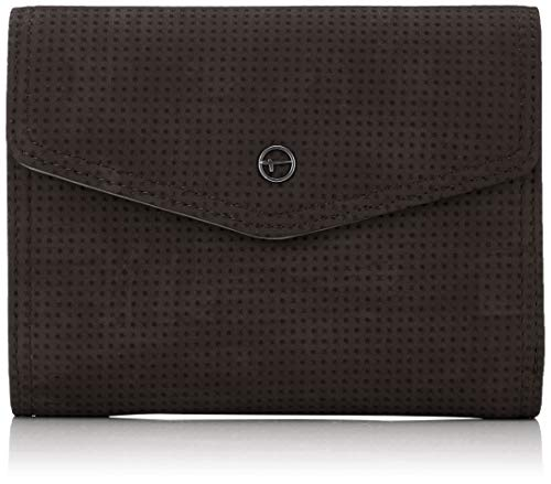 Tamaris Damen Adriana Small Wallet With Flap Geldbörse, Schwarz (Black), 4x11x14,5 cm - Flap-kleine Satchel