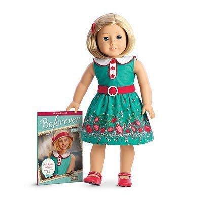 American Girl - Beforever Kit Doll & Paperback Book by American Girl (English Manual) (American Doll Beforever Girl)