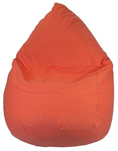 Heunec-671089-Saco de Asiento Microfibra 120L, Color Naranja
