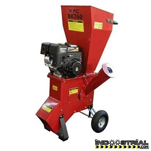 KPC BK760 Biotrituradora con Motor 4 Tiempos, 76 mm Capacidad Hasta, 6.5 HP