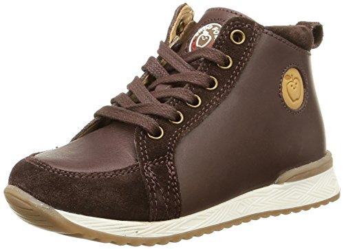 Shoo Pom - Vista Zip, Sneakers per bambini e ragazzi, marrone (lipiz/suede chocolate), 24