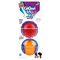 GiGwi Ball 'Squeaker' Pack of 2 Dog Toy, Large