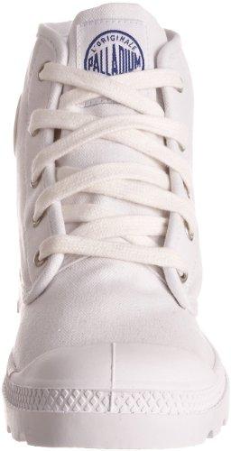 Palladium PAMPA HI Canvas, Basket mode femme Blanc (White/Surf 101)