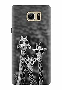 Noise Designer Printed Case / Cover for Samsung Galaxy Note7 / Patterns & Ethnic / Giraffes Design