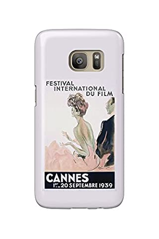 France - Cannes - Festival International du Film - 1939 - (artist: Domergue c. 1939) - Vintage Advertisement (Galaxy S7 Cell Phone Case, Slim Barely There)