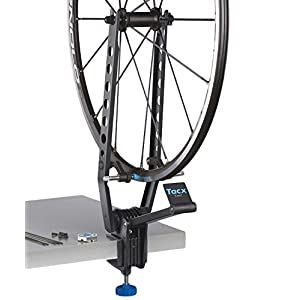 41IN6gvRcZL. SS300 Tacx Exact Wheel Truing Stand Centraruote Professionale, Nero