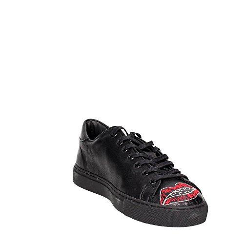 D.A.T.E. ACE-14I Petite Sneakers Homme Noir