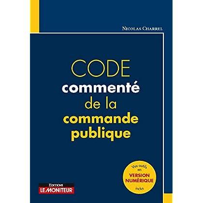 Code commenté de la commande publique