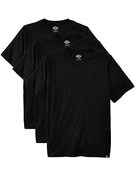 Dickies Herren Rundhals T-Shirt, 3er Pack