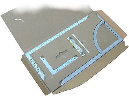 dsAnreißgeräte-Set AUSTRIA | Alpha-Anreißgerät + Zimmermannswinkel AUSTRIA