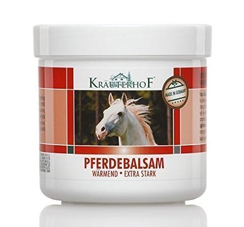 Pferdebalsam wärmend extra stark, Massage-Gel für wärmende Körperpflege mit extra