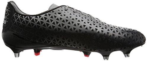 adidas Crazyquick Malice Sg, Chaussures de Rugby Homme, UK Noir - Negro (Negro (Negbas / Rojimp / Grpuch))