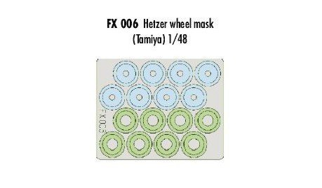 Eduard Accessories fx00630502000hetzer Wheel Mask
