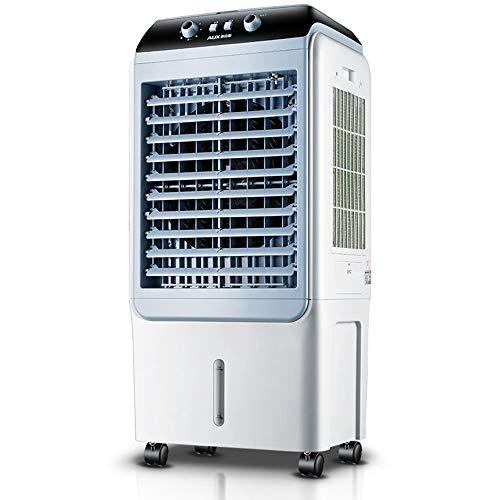 Praktischer Elektrischer Ventilator, Klimaanlagenventilator Haushaltsventilator Wasserkühlventilator Mobile Kleine Klimaanlage Energiesparventilator für Wohnzimmer Schlafzimmer Büro, BOSS LV
