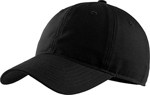 Basecap Baseball Schildmütze Snapback Kappe Mütze Cap in Schwarz für Erwachsene Herren und Damen, für Sport Wie Golf, Tennis, Joggen, 100% Polyester von Procap TK Gruppe