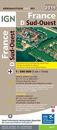 France Sud-Ouest : 1/500 000 par  (Reliure inconnue - Mar 21, 2019)