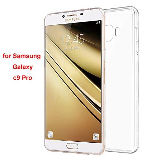 lucklystar-Cover-per-Samsung-Galaxy-C9-PRO-Slim-Trasparente-TPU-Silicone-Custodia-anti-rasguo-anti-golpes-Protective-Case-per-Samsung-Galaxy-C9-PRO