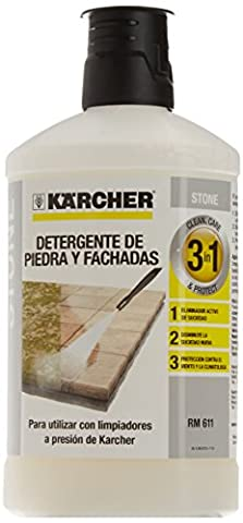 Kärcher 62957650 3-in-1 Stone Plug and Clean - Black