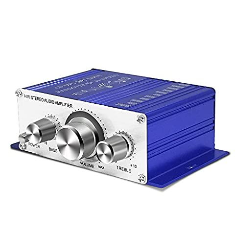 Amplificateur Chambre - Mini Amplificateur Hifi Stéréo de Son 12V