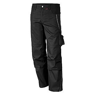 Qualitex PRO Bund-Hose Arbeits-Hose MG 245 - schwarz - Größe: 58